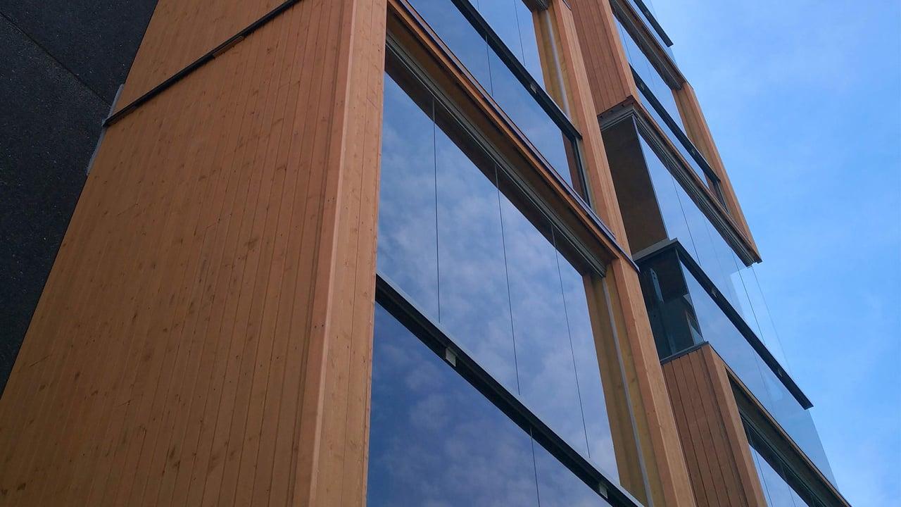 Sertifisert CLT-brannbeskyttelse fremmer karbonnøytral konstruksjon