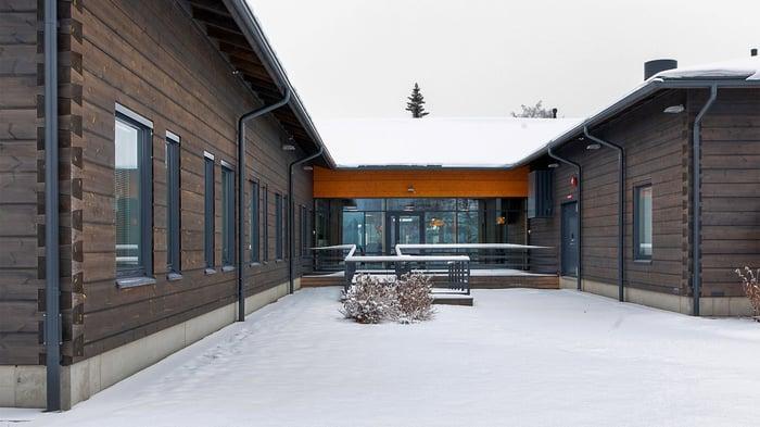 Pudasjärvi Log Mansion