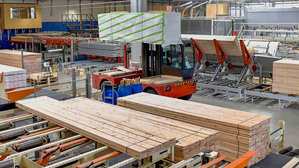 Sawmill production