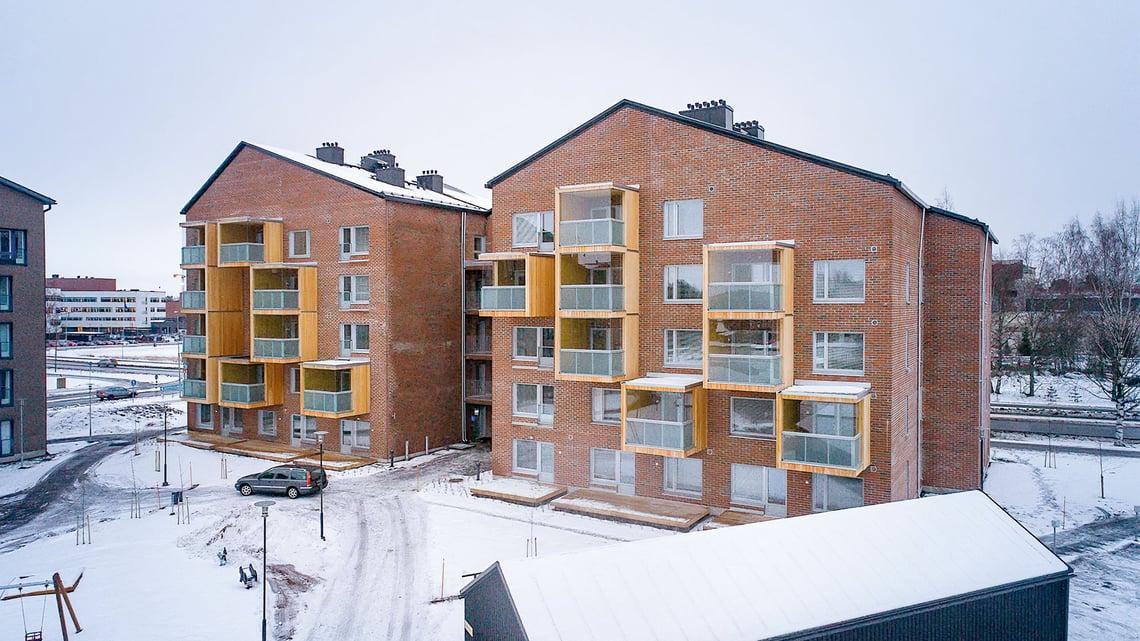 CLT balconies