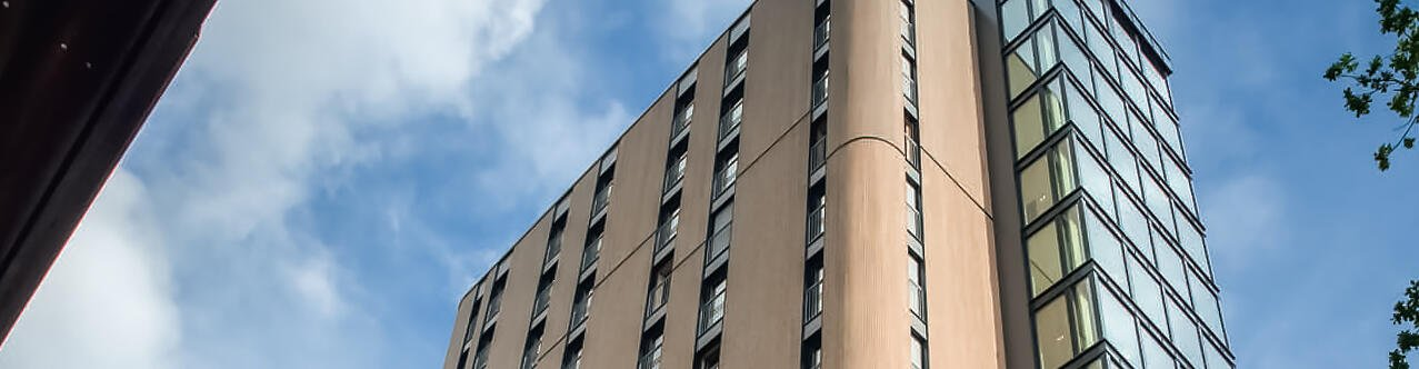 """""""The world's tallest student housing made of solid wood"""